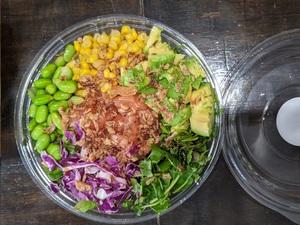Salmon/Tuna Bowl